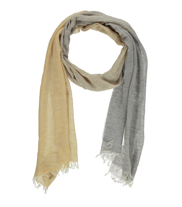 Foulard Vague - Jaune