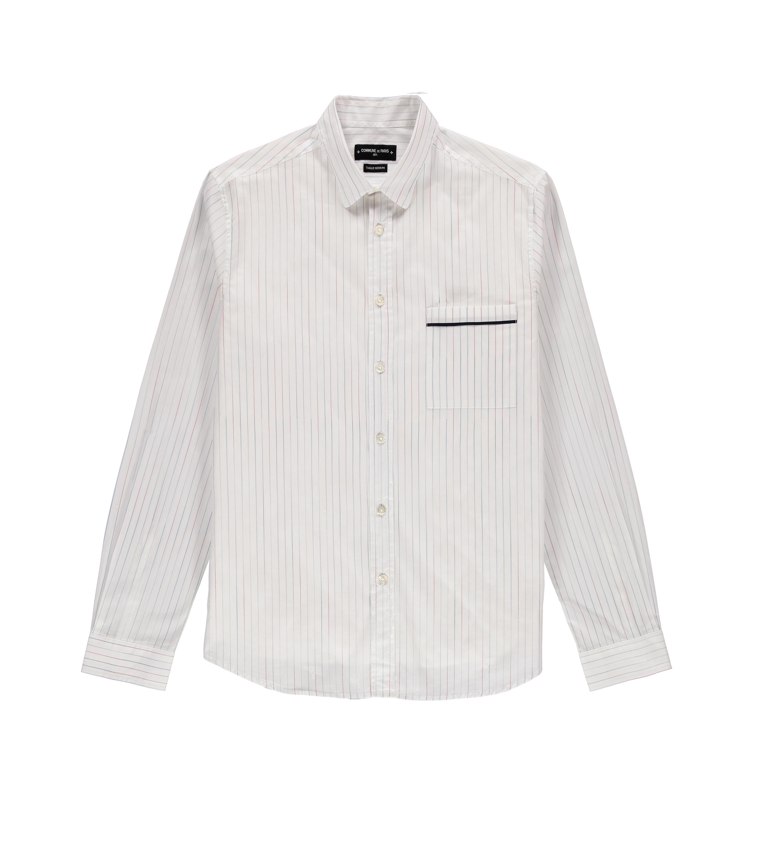 Shirt Rossel-S 02 - Thin stripes