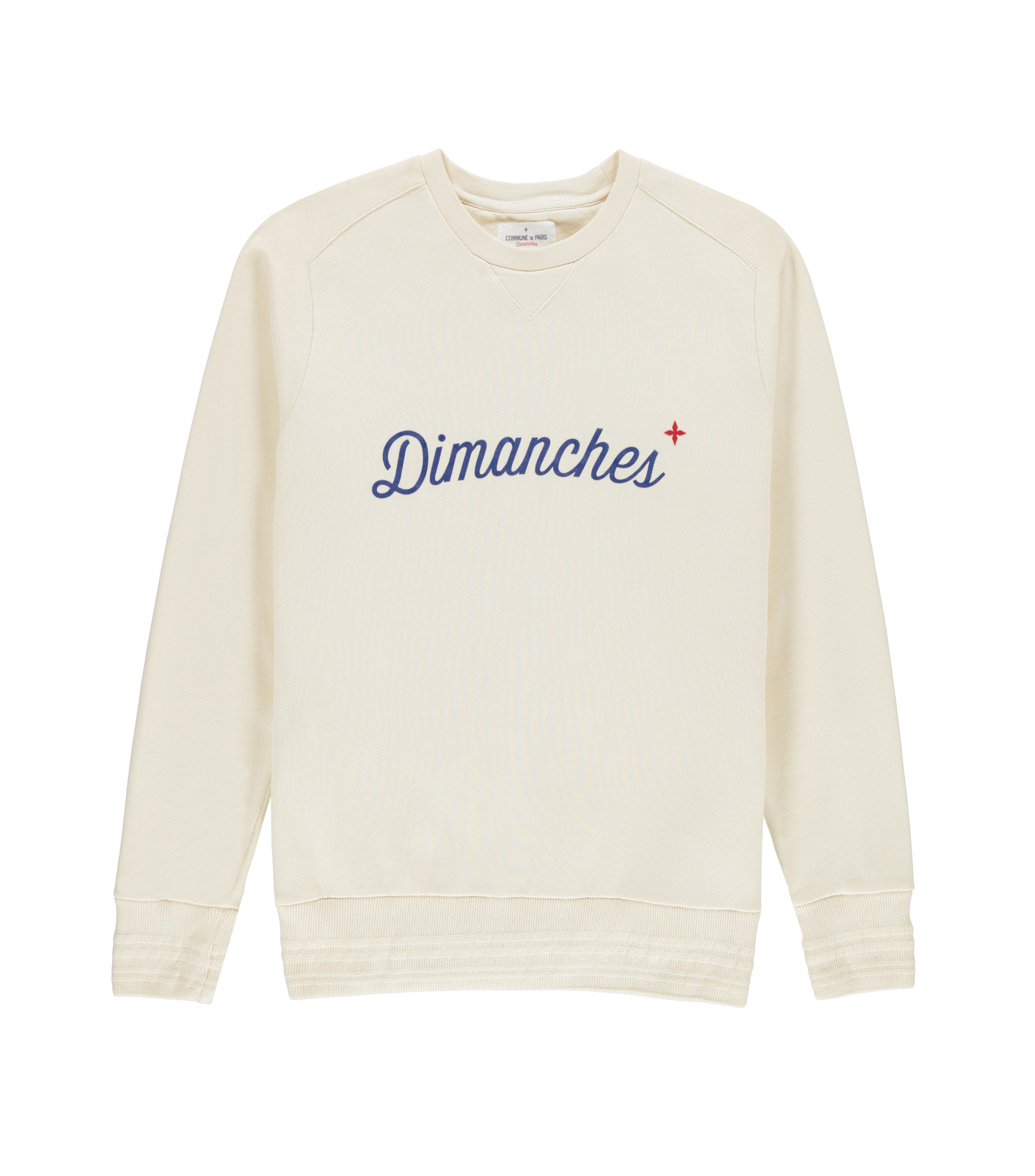 Sweat Dimanches - Greige