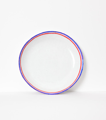 Assiette creuse Tricolores