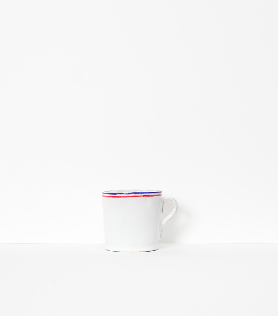 Coffee cup Tricolores