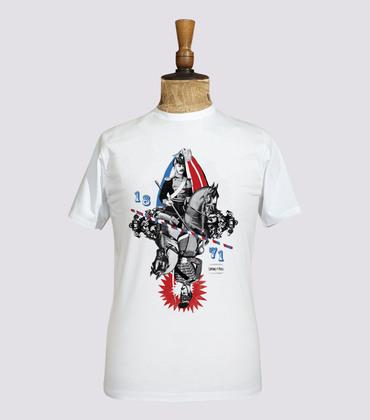 Tee-shirt Cavaliers - White