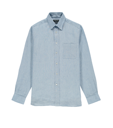 Shirt  Etudes 03 - Light blue
