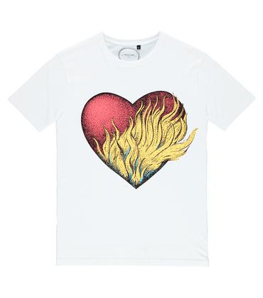 Tee-shirt Cœur - Blanc