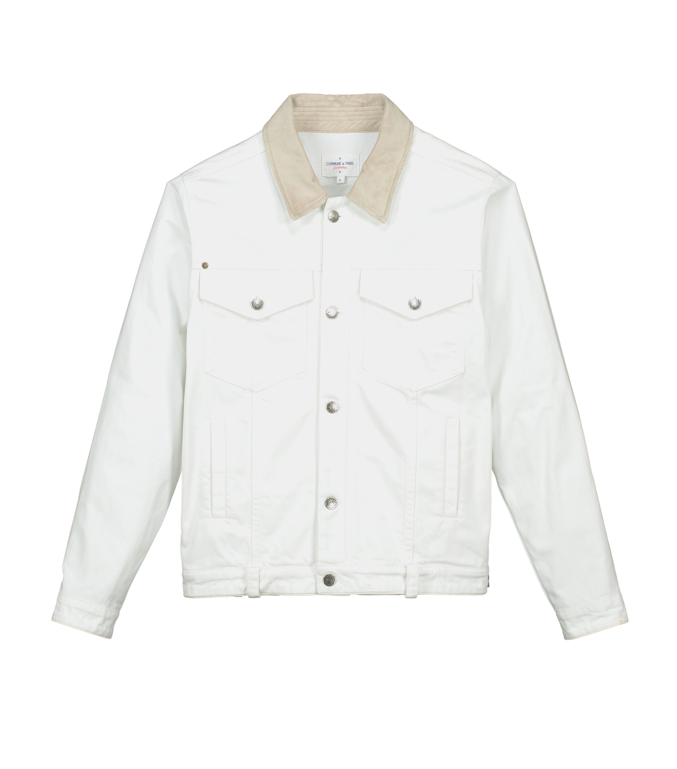 Jacket Jean - White denim
