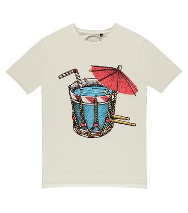 Tee-shirt Tambour - écru