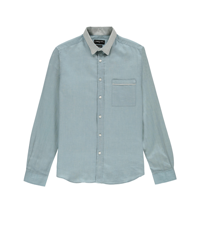 Chemise Rossel-S 04 - Turquoise