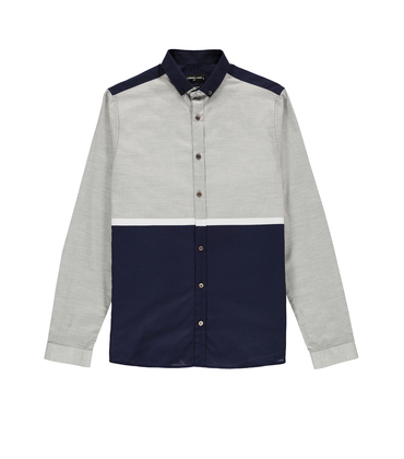 Shirt  Metivier - Grey/navy