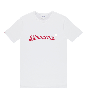 Tee Dimanches 03 - White