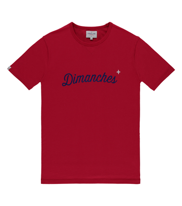 Tee Dimanches 03 - Red