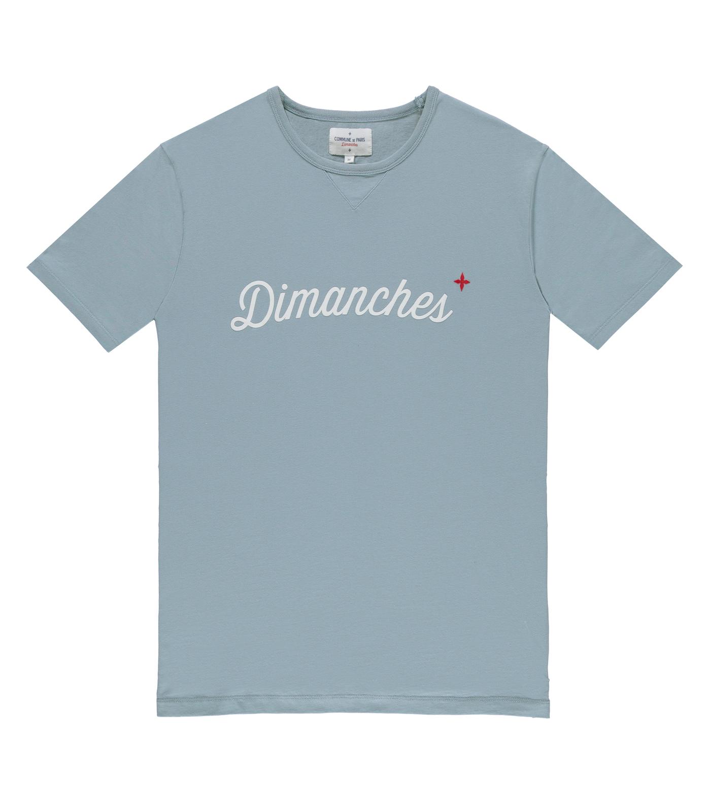 Tee-shirt Dimanches 03 - Bleu