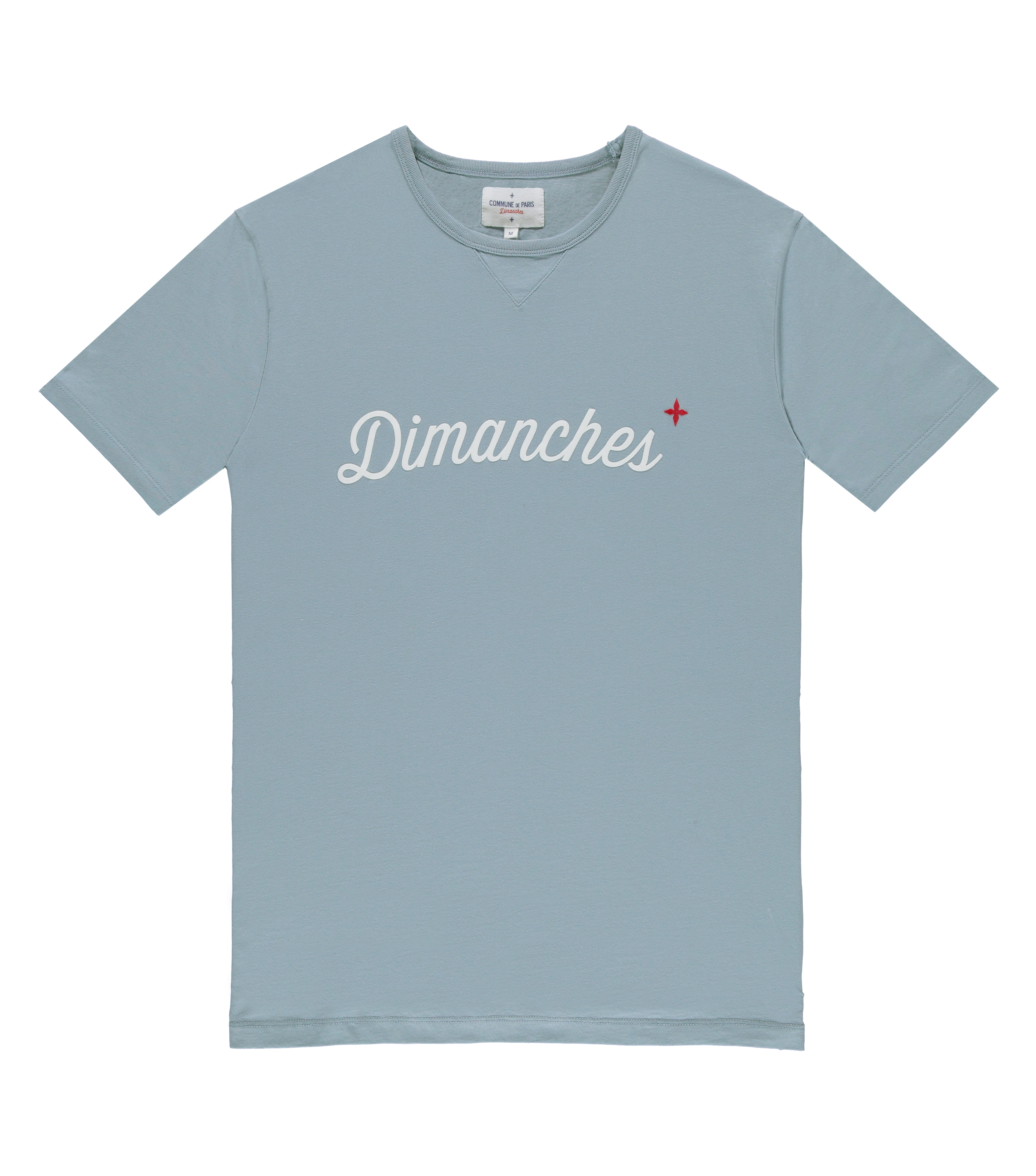 Tee Dimanches 03 - Blue
