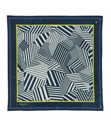 Silk scarf Memphis