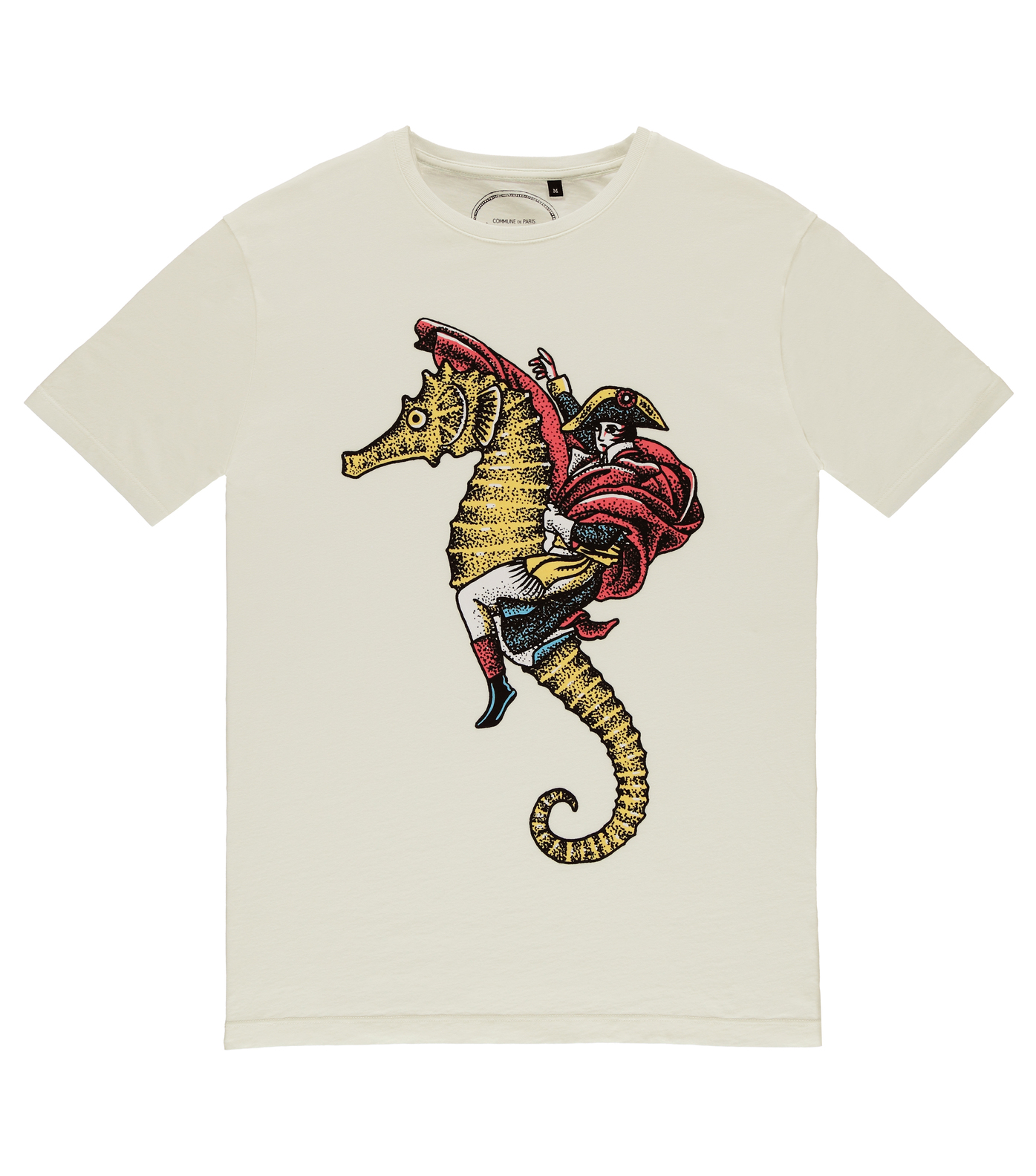 Tee Hippocampe - Offwhite
