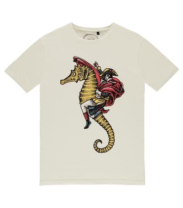 Tee-shirt Hippocampe - écru