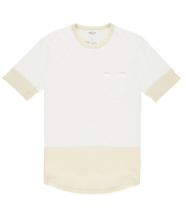 Tee Giant - White/greige