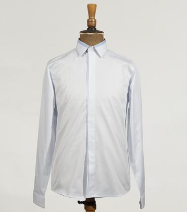 Shirt Rochefort - Blue stripes