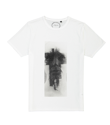 TEE SCULPTURE  - White