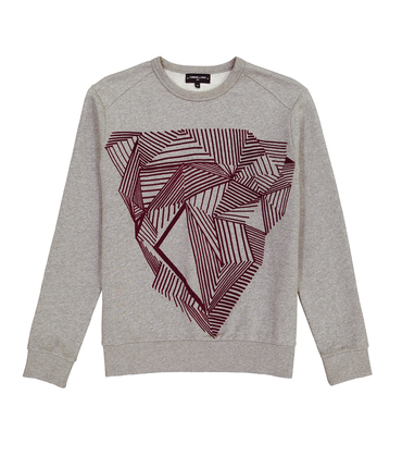 SWEAT DIAMANT  - Marl grey