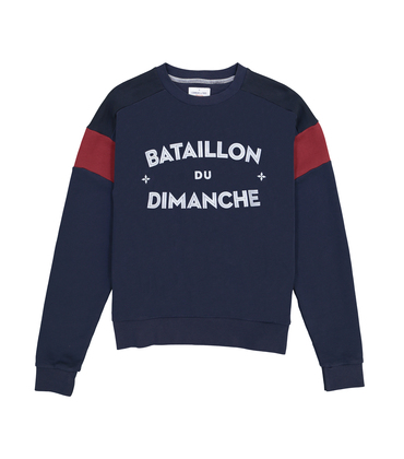 SWEAT BATAILLON - Navy