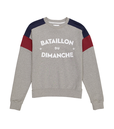 SWEAT BATAILLON - Marl grey