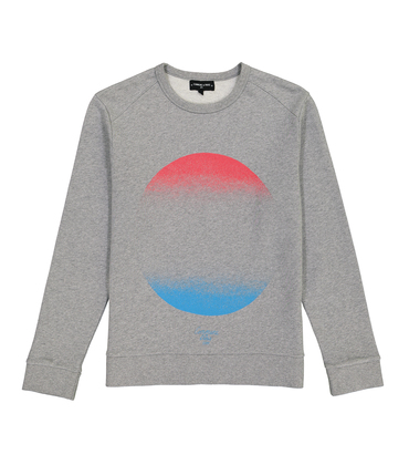 SWEAT COSMO  - Marl grey