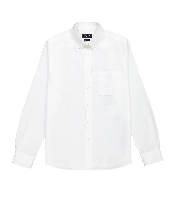 CHEMISE EUDES BASIC - Blanc