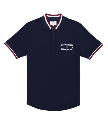 POLO DIMANCHES04 - Navy fonce