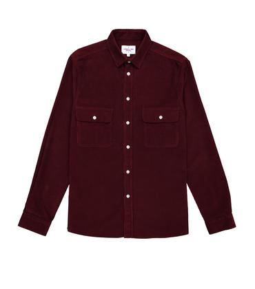 SHIRT FERDINAND - Dark red
