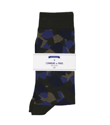 SOCKS TOUDIC - Blue