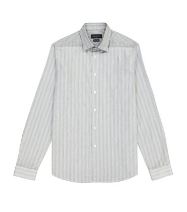 SHIRT LAUDELLE - Black stripes