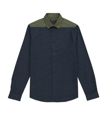 SHIRT LAUDELLE - Navy/khaki