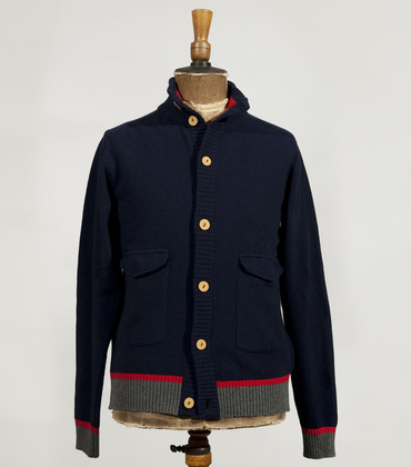 Cardigan Belleville FT - Blue