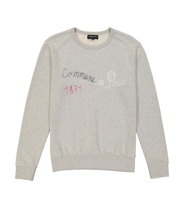 SWEAT  FILAIRE - Marl grey