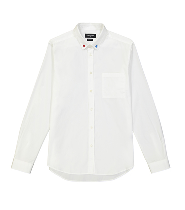 SHIRT ROSSEL-GR - White embro