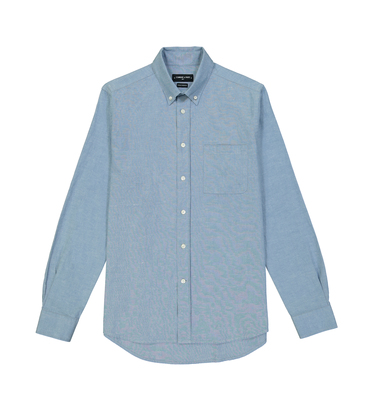 SHIRT EUDES BASIC - Light blue
