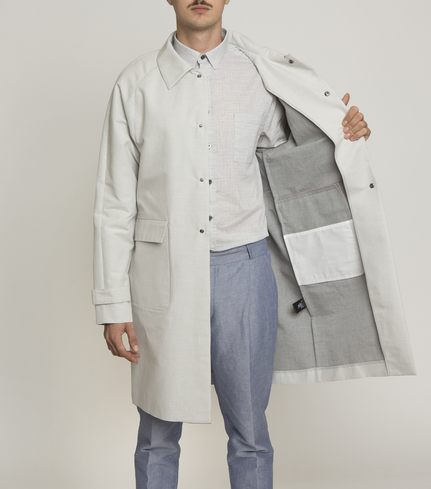 TRENCH HONORAT - Grey