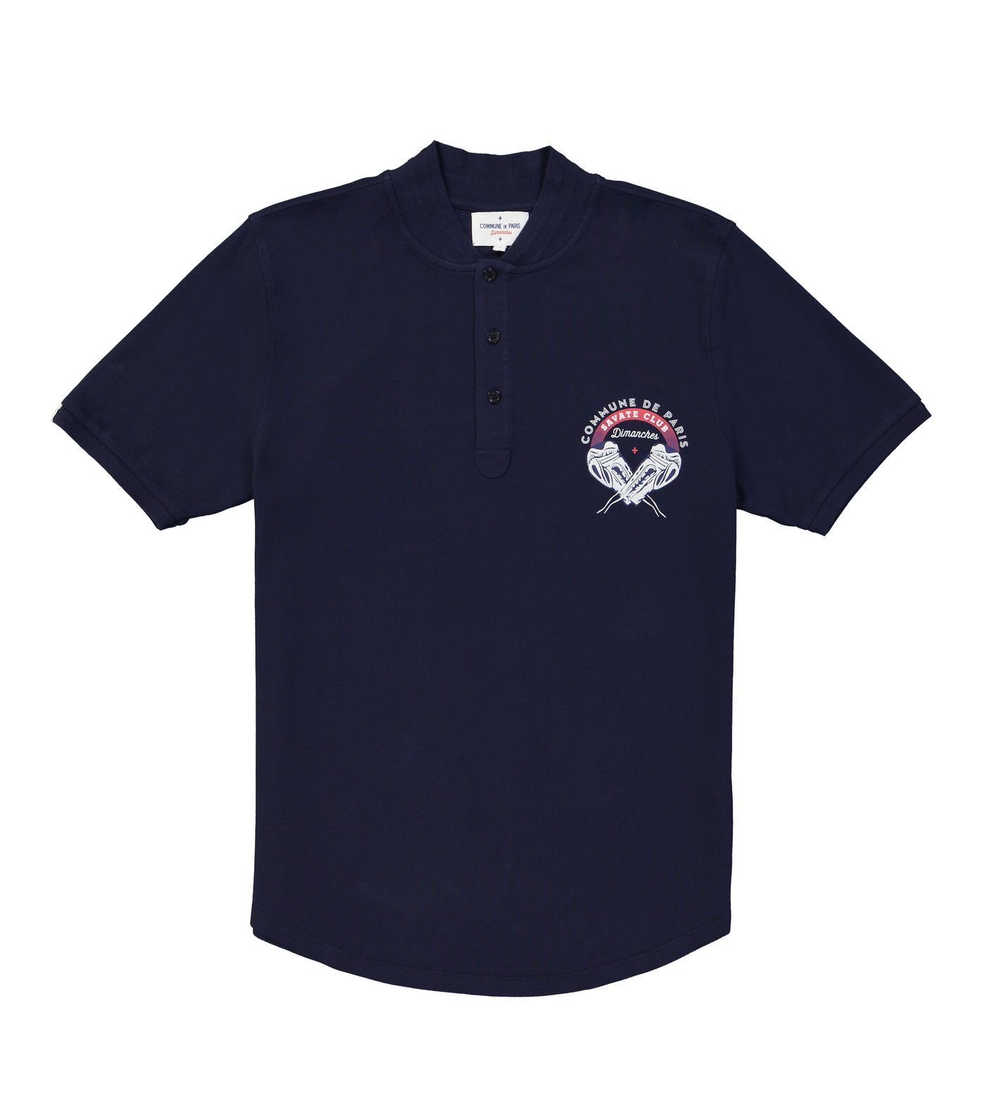 POLO SAVATE - Navy