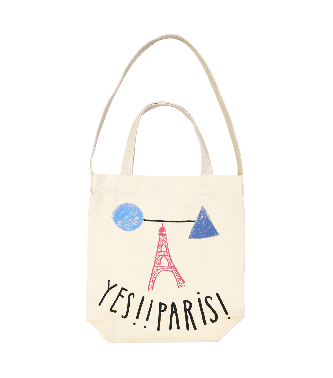 TOTEBAG YES PARIS  - Natural