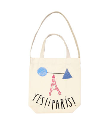 TOTEBAG YES PARIS  - Naturel