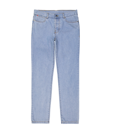PANTS GN.DENIM - Blue denim