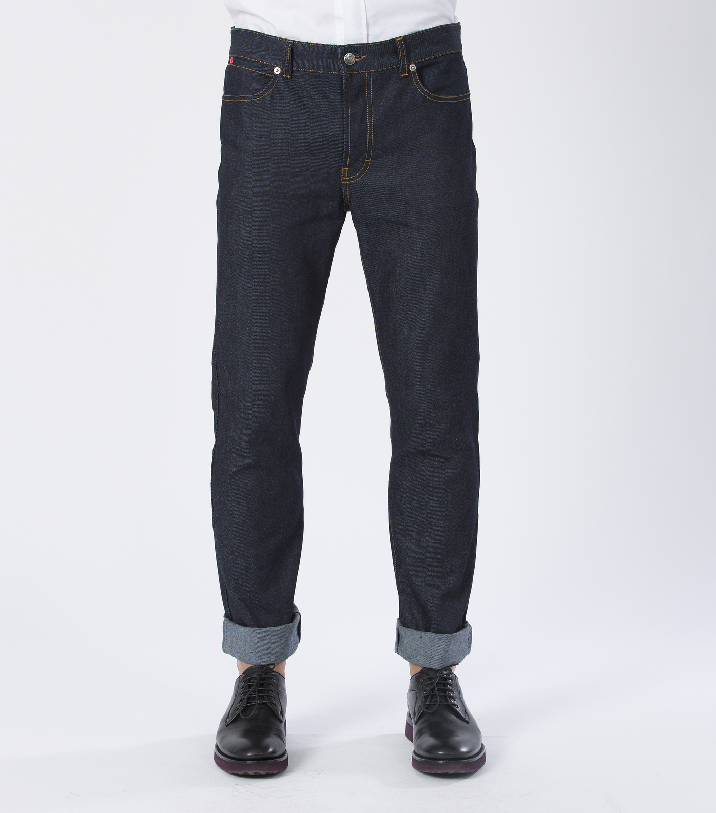 PANTS GN.DENIM - Raw denim