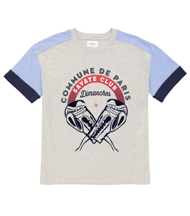 TEE SAVATE - Marl grey