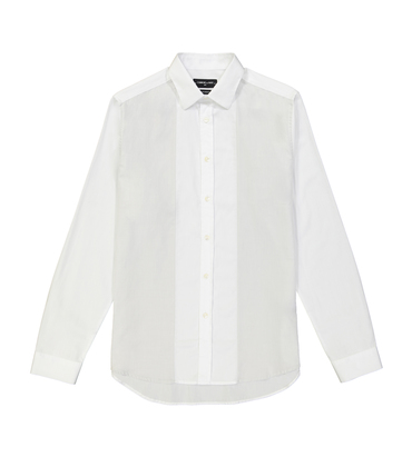 SHIRT AMAND  - White/grey