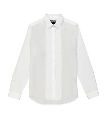 CHEMISE AMAND  - Blanc/gris