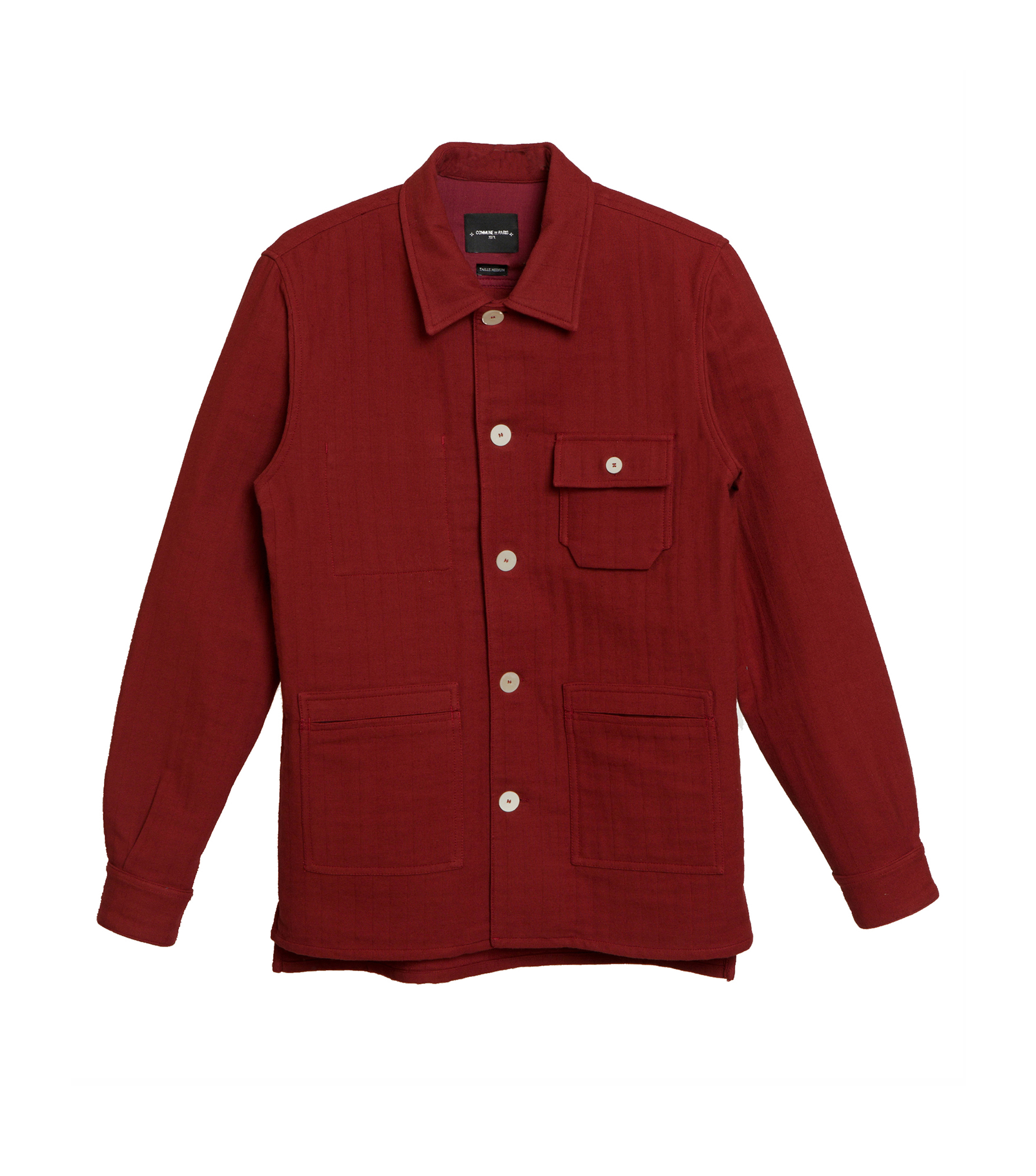 OVERSHIRT THEODORE - Red