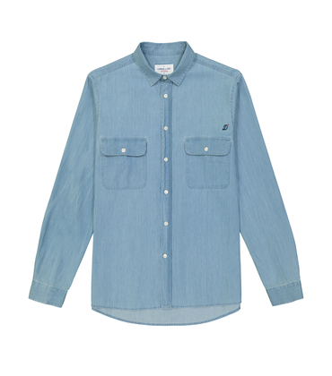 SHIRT FERDINAND  - Blue denim