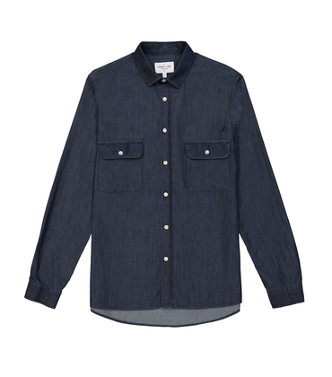 SHIRT FERDINAND  - Raw denim