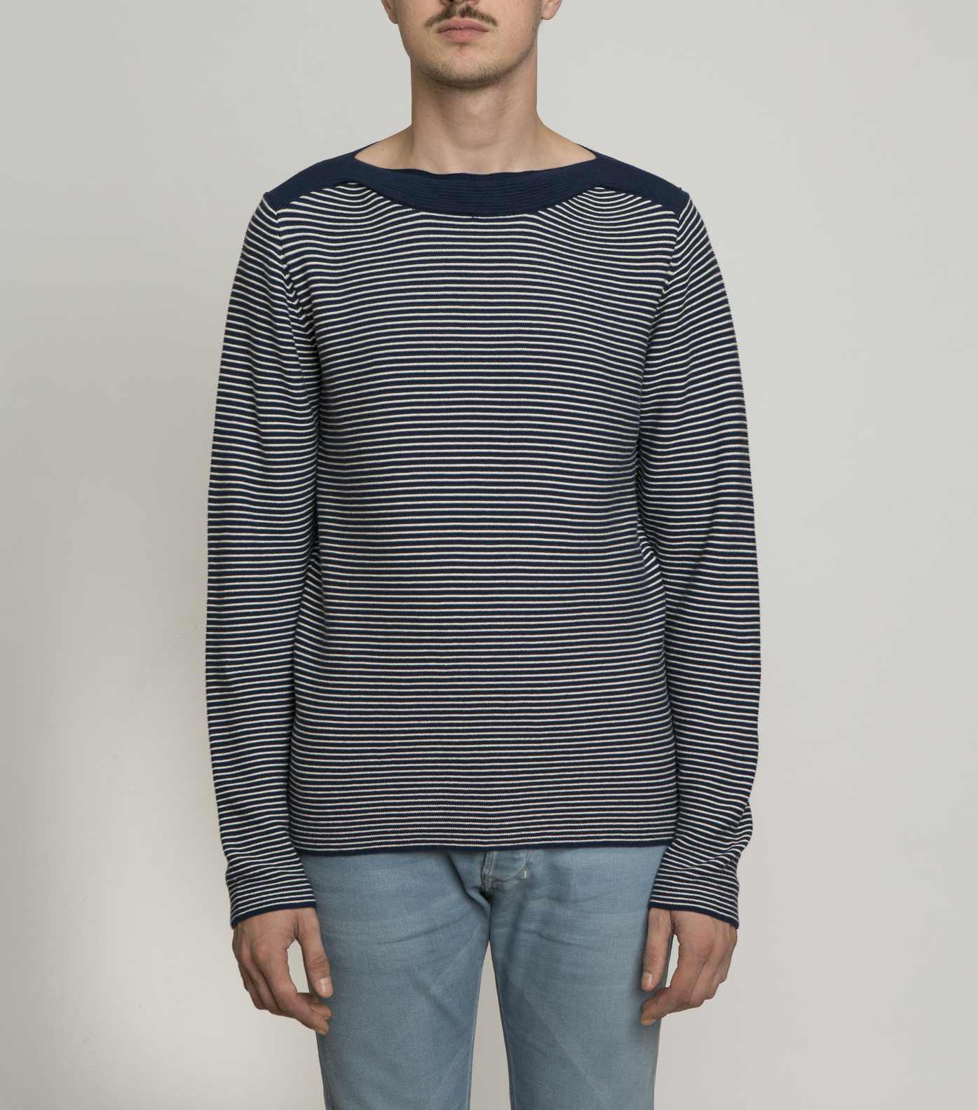 PULL ARSENAL  - Navy striped