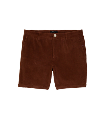 SHORT SP5 - Velours brique